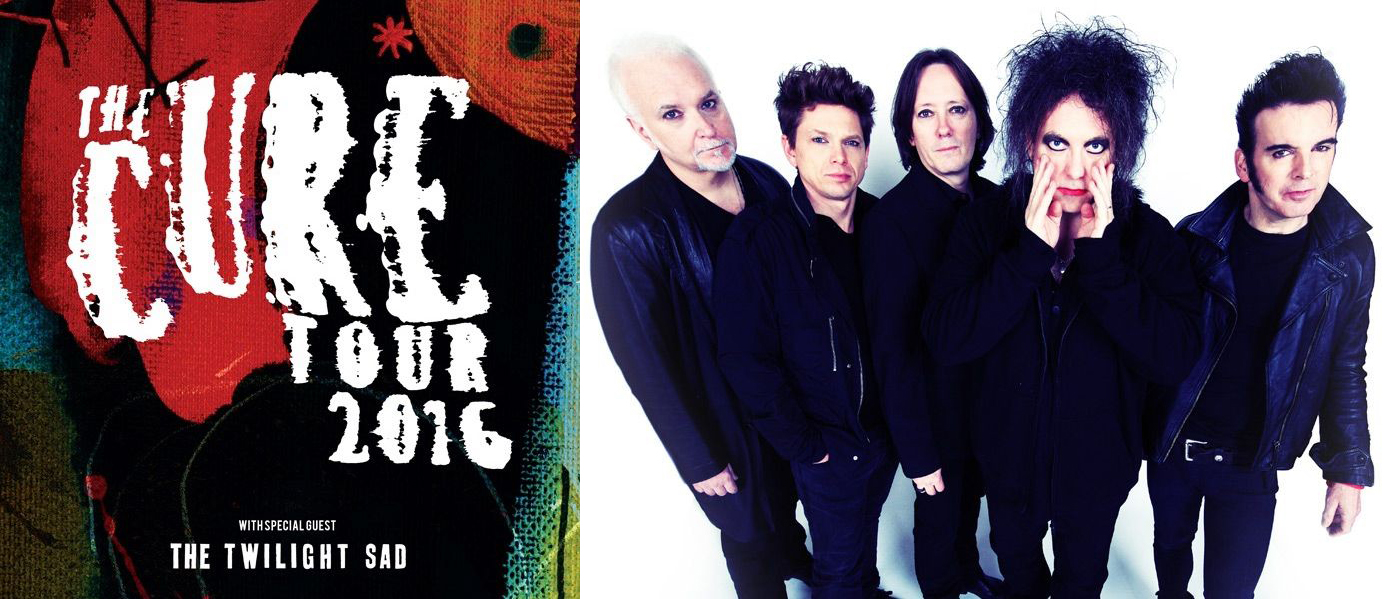 80s Gift Ideas: The Cure Concert Tickets