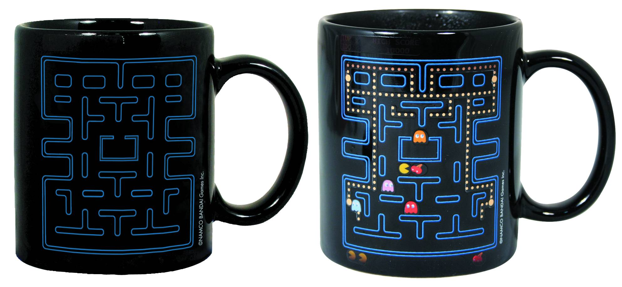 80s Gift Ideas: Pac-Man Heat Change Mug