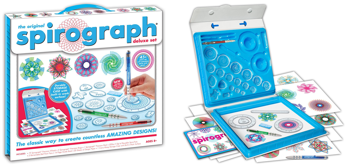80s Gift Ideas: Spirograph Deluxe Design Set