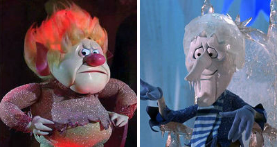 Heat Miser & Snow Miser from A Year Without a Santa Claus