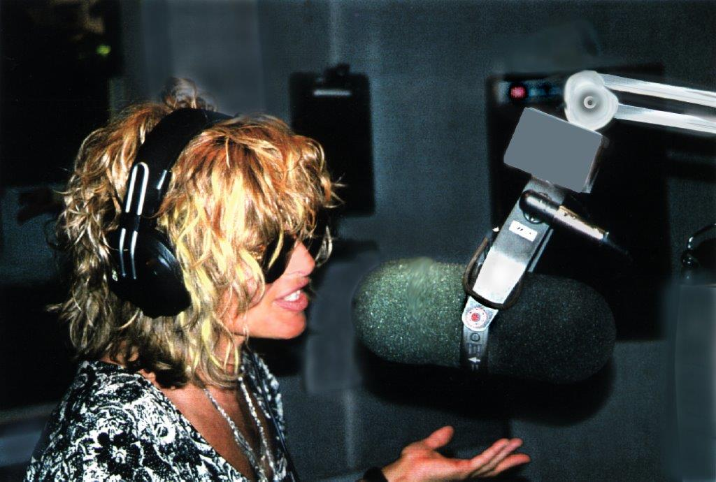 "Nina keeps the 80s flame burning by hosting her daily radio show on Sirius XM's ""80s on 8"""