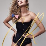 Gigi Hadid Brings Back the 80s Fashion on CR Fashion Book Cover