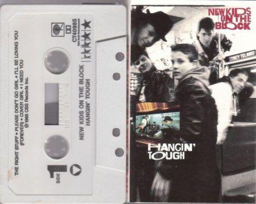 New Kids On The Block Cassette