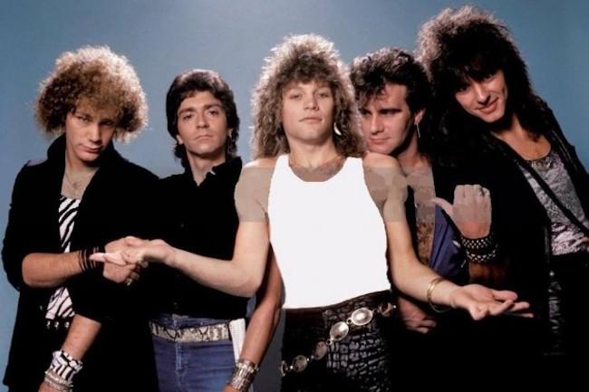 Bon Jovi Band 1980s