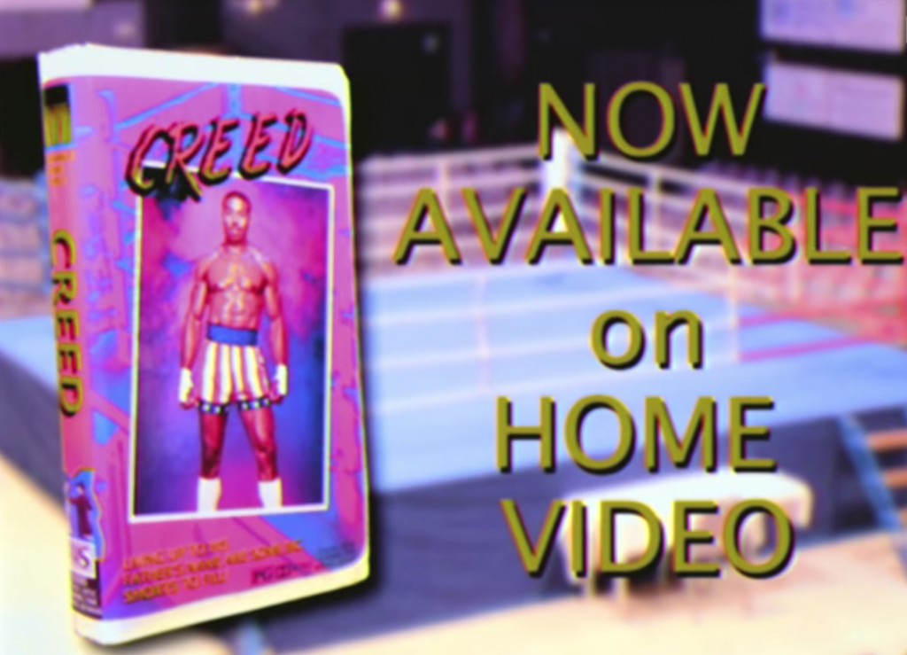 Creed On VHS