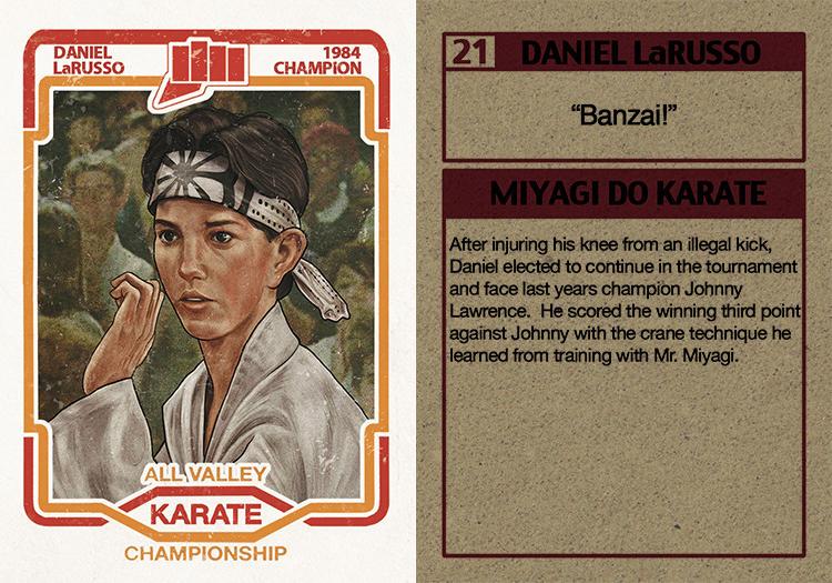 Daniel LaRusso Trading Card