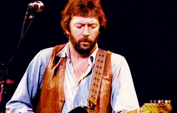 Eric Clapton 1981 Japan AF