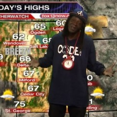 80s Rap Icon Flavor Flav Played Weatherman On Utah TV Today