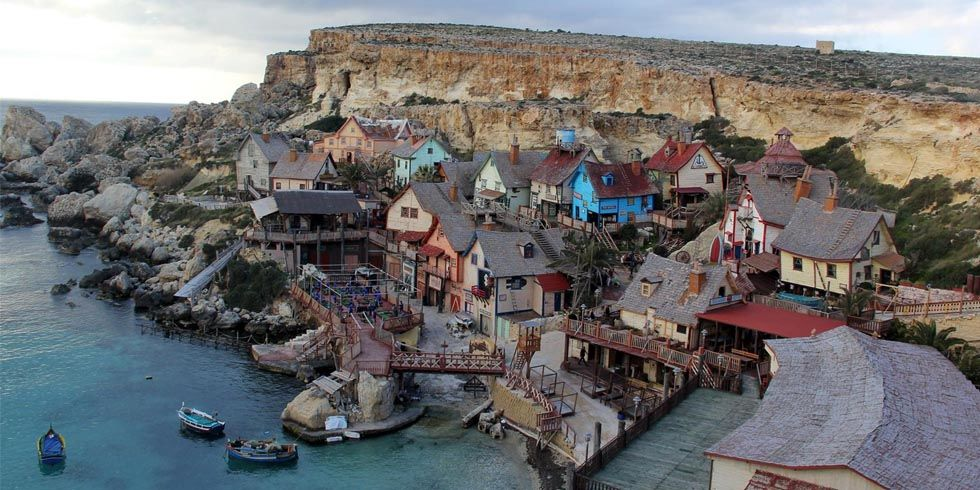 Popeye Movie Set Village