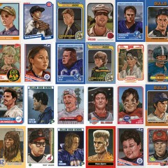 These Trading Cards Of Beloved Fictional Sports Icons Are Fantastic