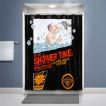 Nintendo Shower Curtain Game Box Puts You On The Cover