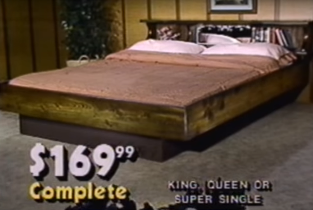 This Guy Thinks The Waterbed Was A Good Idea Because He