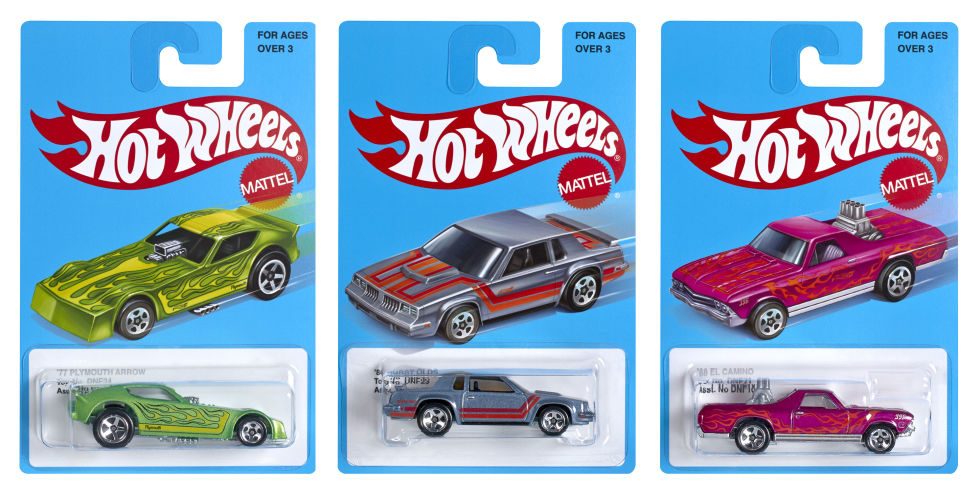Hot Wheels Cars 80s Reissue