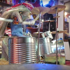 Puppet Playing Rush's 'Tom Sawyer' Is Awesome Yet Totally Creepy
