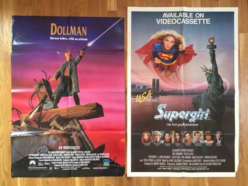 rare 80s movie posters