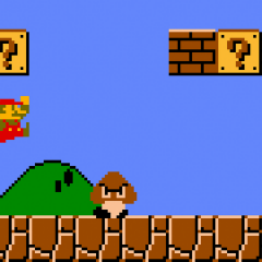 Gamer Beats Super Mario Bros In Under 15 Minutes And WHILE BLINDFOLDED