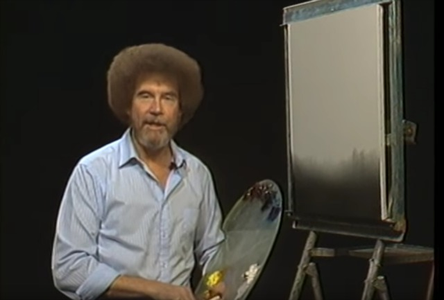 Letu0027s start off with that awesome afro that Ross sported. Thatu0027s as easy as finding a dark brown afro wig for men which could also be used by a woman who ...  sc 1 st  Like Totally 80s & Most Awesome Bob Ross Costume Idea | Like Totally 80s
