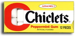chiclets