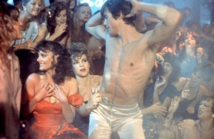 A NIGHT IN HEAVEN, Lesley Ann Warren (l.), Christopher Atkins (r.), 1983, TM and Copyright (c)20th Century Fox Film Corp. All rights reserved.