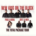 New Kids on the Block, Paula Abdul and Boyz II Men Introduce 'The Total Package' Tour