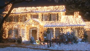 christmas vaca lighted house pic