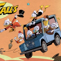The 80s Classic Cartoon DuckTales Returns in 2017