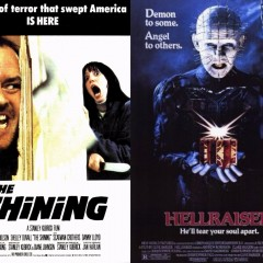 Greatest 80s Horror Movies: The Shining V.S. Hellraiser
