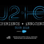 U2 Reveals 'Songs of Experience' Album and eXPERIENCE + iNNOCENCE Tour Plans