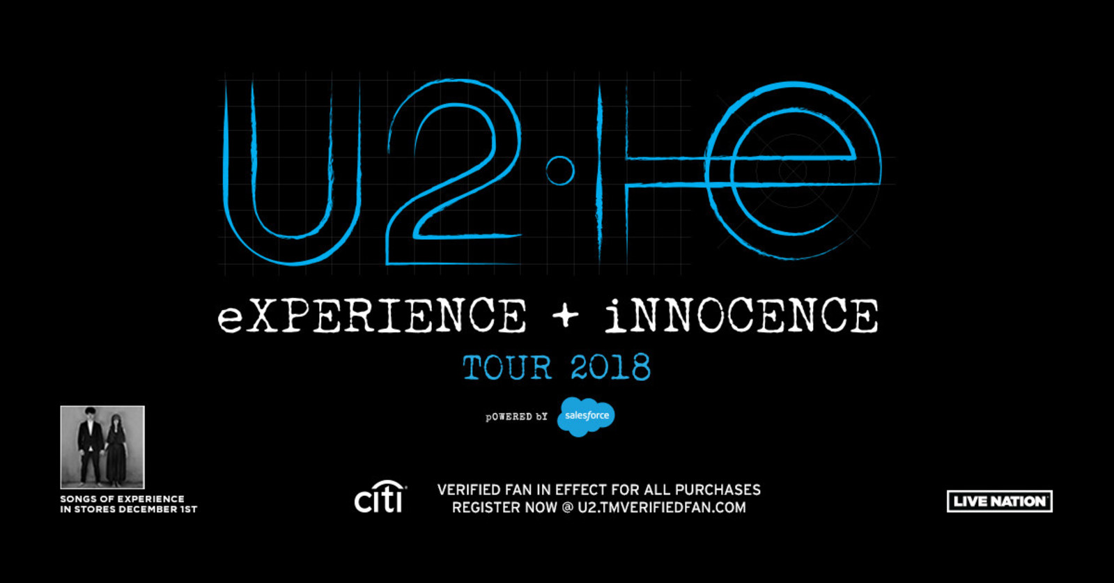 U2 Reveals 'Songs of Experience' Album and eXPERIENCE + iNNOCENCE