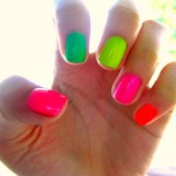 Nails of the 80s, and Today